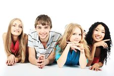 Free Happy Friends Royalty Free Stock Photography - 9573327