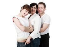 Free Hugging Relatives Stock Photos - 9573333