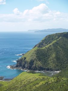 New Zealand Coast Line Stock Photos