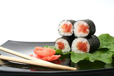 Free A Japanese Roll Stock Image - 9575491