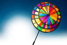 Free Colourful Pinwheel Stock Image - 9576661
