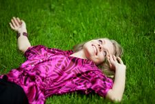 Free Enjoying The Sun Royalty Free Stock Photo - 9576875