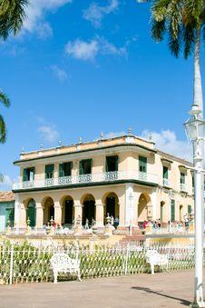 Beautiful Residence In Trinidad Royalty Free Stock Photos