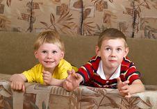 Free Two Boys Stock Photos - 9578213
