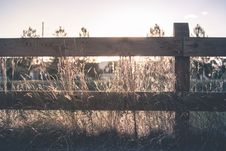 Free Brown Wooden Fence On Brown Grass Royalty Free Stock Photography - 95739927