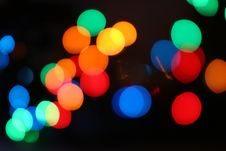 Free Colorful Bokeh Lights Background Stock Image - 95740031