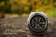 Free Casio Watch On The Ground Outside Royalty Free Stock Photography - 95798417