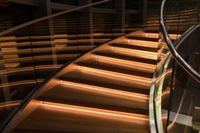 Free Illuminated Staircase Stock Photos - 95798583