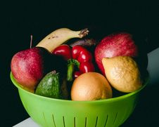 Free Fruits And Veggies Royalty Free Stock Photos - 95798628