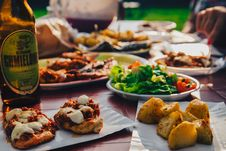 Free Grill Eat Table Royalty Free Stock Photo - 95798645
