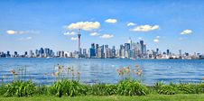 Free Toronto, Canada Skyline Over Waterfront Stock Images - 95798754