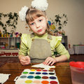 Free Young Talent In A Kindergarten Royalty Free Stock Images - 9582179