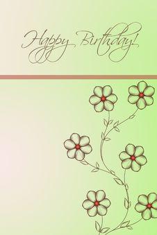 Free Happy Birthday Stock Images - 9580204