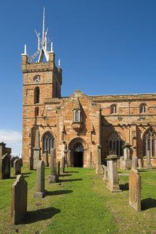 St Michael S Church, Linlithgow, Scotland Stock Images