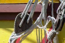 Free Ropes Royalty Free Stock Photo - 9580865