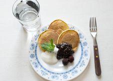 Free Pancakes Stock Images - 9581394