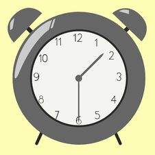 Free Old Fashioned Clock Stock Image - 9582211