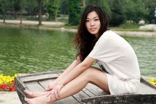 Free Asian Girl In Summer Stock Images - 9582304