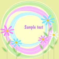 Free Abstract Floral Composition Stock Image - 9582361