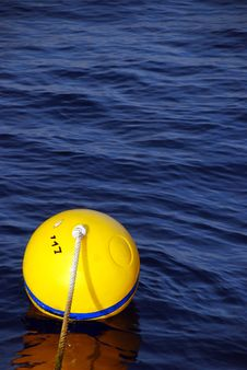 Free Yellow Buoy Stock Images - 9582694