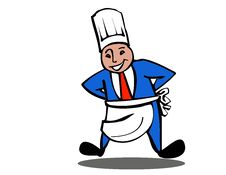 Free Chef Logo Stock Image - 9583371