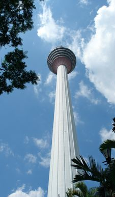 Free KL Tower 421m Royalty Free Stock Image - 9583786