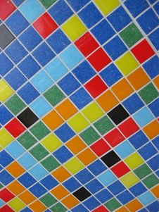 Free Colorful Mosaic Background Stock Image - 9584111