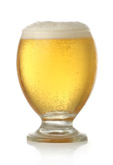 Free Glass Of Cold And Fresh Golden Beer Royalty Free Stock Image - 9584516