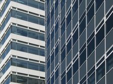 Free Office Building Background Royalty Free Stock Image - 9584806