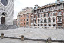 Free Genova Via XX Settembre Royalty Free Stock Image - 9585176