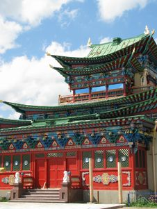 Free Buddhist Temple Stock Image - 9585511