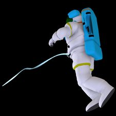 Free Astronaut Royalty Free Stock Image - 9585986