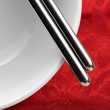 Free Chopsticks Royalty Free Stock Image - 9587226