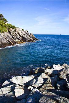 Free Italian Riviera Coast Royalty Free Stock Images - 9587239
