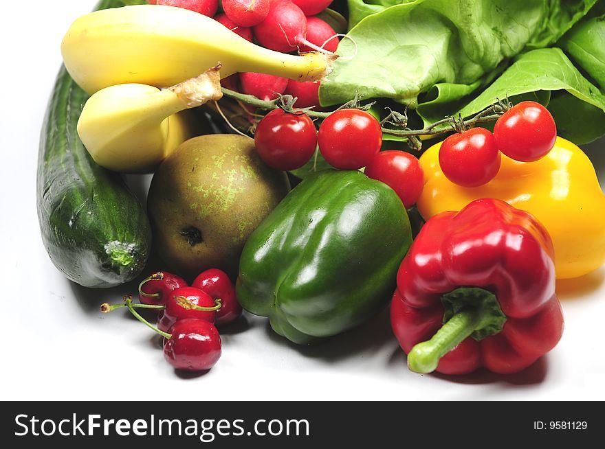Fresh and ripe