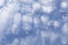 Free Clouds In A Blue Sky Royalty Free Stock Photography - 95816187