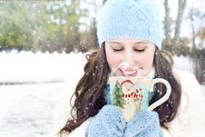 Free Winter, Freezing, Nose, Fun Stock Photo - 95824340