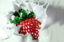 Free Strawberry, Strawberries, Whipped Cream, Fruit Royalty Free Stock Photos - 95824878