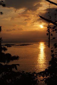 Free Sunset, Sky, Sunrise, Afterglow Stock Photography - 95825232