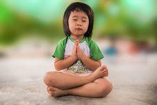 Free Child, Green, Sitting, Skin Stock Images - 95825644