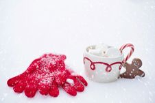 Free Coffee Cup, Christmas Ornament, Cup Royalty Free Stock Images - 95827049