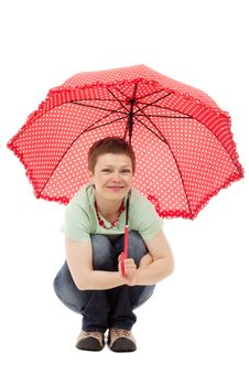 Free Umbrella, Red, Fashion Accessory, Child Royalty Free Stock Images - 95827749
