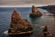 Free Coast, Rock, Sea, Stack Stock Photos - 95828423