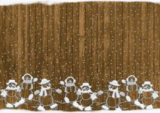 Free Christmas, Snowmen, Rustic, Snow Royalty Free Stock Images - 95829109