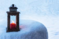 Free Winter, Snow, Lighting, Freezing Royalty Free Stock Photography - 95831647
