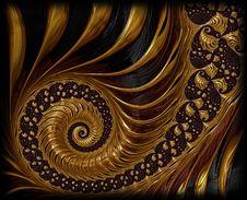 Free Fractal Art, Art, Spiral, Nautilida Royalty Free Stock Photography - 95832127