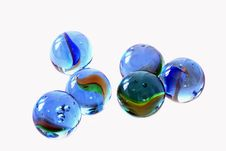 Free Marble, Cobalt Blue, Glass, Bead Royalty Free Stock Photography - 95832447