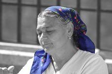 Free Blue, Headgear, Senior Citizen, Human Stock Images - 95833254