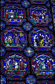 Free Stained Glass, Glass, Pattern, Window Royalty Free Stock Photography - 95834987
