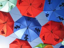Free Umbrella, Sky, Symmetry Stock Photography - 95837562